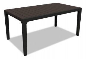 Harmony - Stôl (čierna, hnedá)