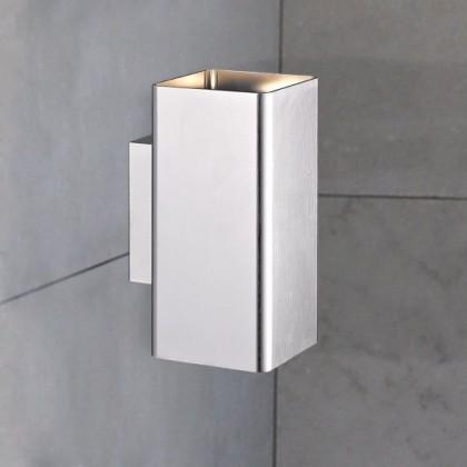 Harris - Nástenné svietidlo, LED (kartáčovaný hliník)