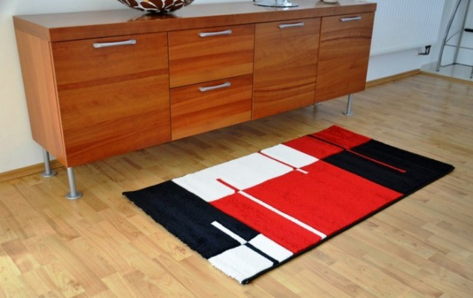 Hawaii - koberec, 170x120cm (100%PP friese, červená)