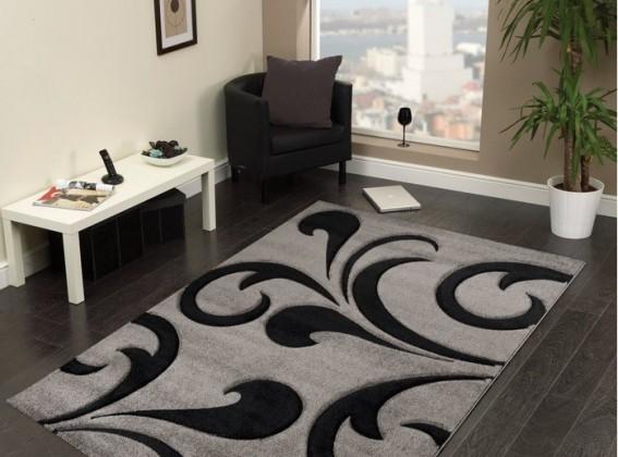Hawaii - koberec, 170x120cm (100%PP friese, sivá)