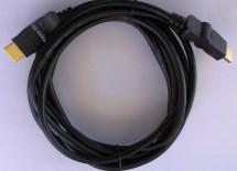 HDMI kábel MK Floria, otočné konektory, 2.0, 1,8m