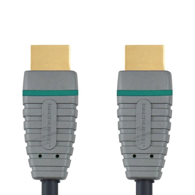HDMI káble HDMI kábel Bandridge BVL1203, 1.4, 3m