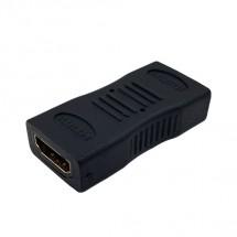HDMI redukcia spojka, HDMI zdierka - HDMI zdierka, priama, bliste