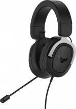 Headset Asus TUF GAMING H3, strieborný