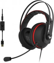 Headset Asus TUF GAMING H7, červený