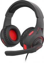 Headset Genesis Radón 200, 7.1 Virtual, herný, čierna