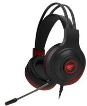 Headset HAVIT H2011d, herný, čierny