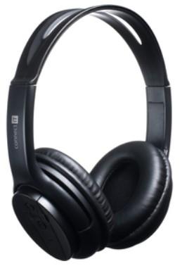 Headset, náhlavná súprava Connect IT Bluetooth slúchadlá s mikrofónom, čierna ROZBALENÉ