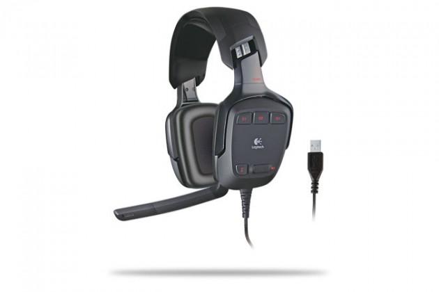 Headset, náhlavná súprava  Logitech G35 Gaming Headset 7.1, USB (981-000258)