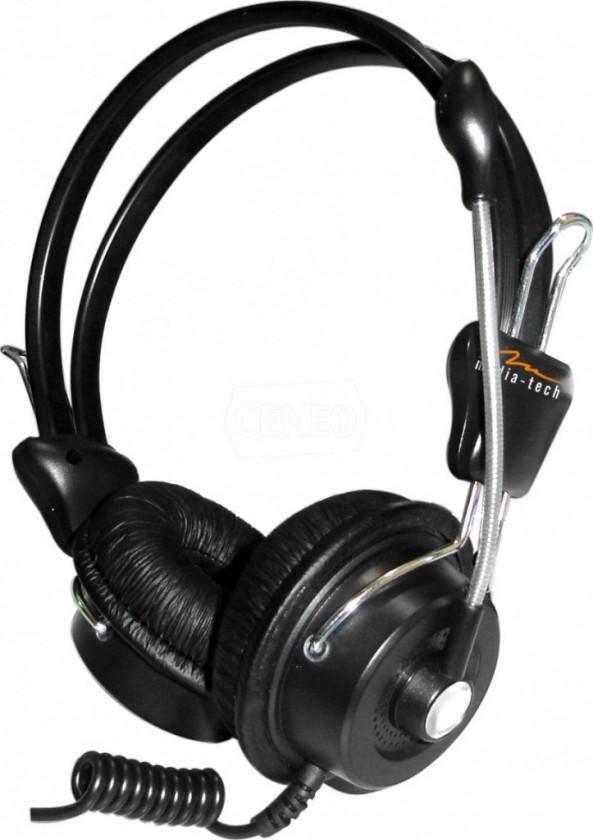 Headset, náhlavná súprava Media-Tech MT-3515 Delphini