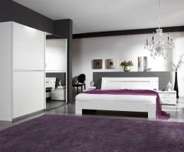 Heaven - Komplet 5, posteľ 160cm (alpská biela)