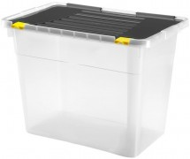 Heidrun HDR660 Box úložný s viečkom 100l, plast,78x38,5x47,5cm