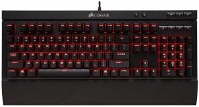 Herná klávesnica Corsair K68 červené podsvietenie MX Red