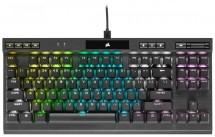 Herná klávesnica Corsair K70 TKL RGB SK MX Red