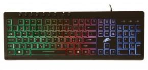Herná klávesnica EVOLVEO GK640, podsvietená, čierna