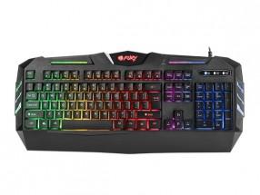Herná klávesnica FURY Spitfare backlight, US layout, čierna