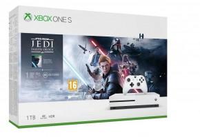 Herná konzola Microsoft XBOX ONE S 1TB + SW Jedi: Fallen Order