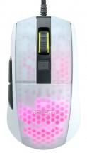 Herná myš Roccat Burst Pro, 68 g, 16000 dpi, biela