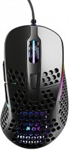 Herná myš Xtrfy M4 RGB, 16 000 dpi, čierna