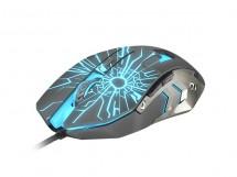 Herná optická myš FURY Gladiator, 3200 dpi, čierna