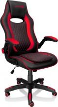 Herná stolička Connect IT Matrix Pro, červená CGC-0600-RD