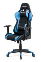 Herná stolička Crash modrá