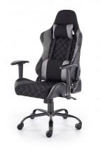 Herná stolička Lets Play čierna, sivá