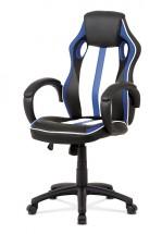 Herná stolička Quest modrá