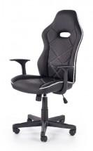 Herná stolička Singleplayer čierna, biela