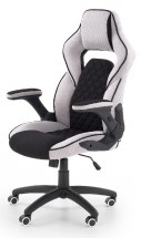 Herná stolička Teamplayer čierna, sivá