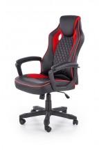 Herná stolička Thrasher čierna, červená