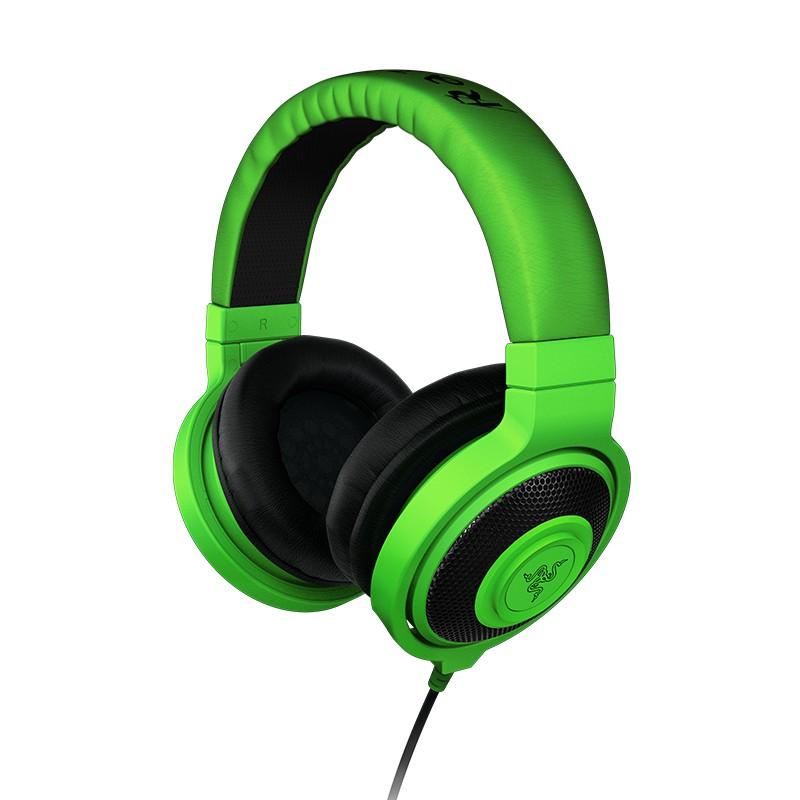 Herné Herní sluchátka Razer Kraken Green, zelená