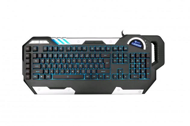 Herné klávesnice C-Tech Chiron (GKB-109) CZ/SK,7 barev podsvícení, USB