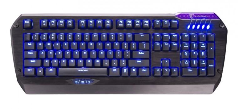 Herné klávesnice C-TECH KB-9140 USB CZ+SK, čierna-strieborná