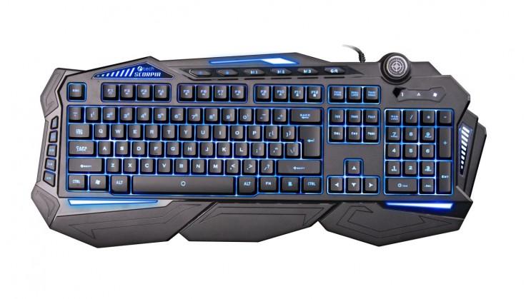 Herné klávesnice C-TECH Scorpia, CZ / SK, USB (GKB-107) ROZBALENÉ