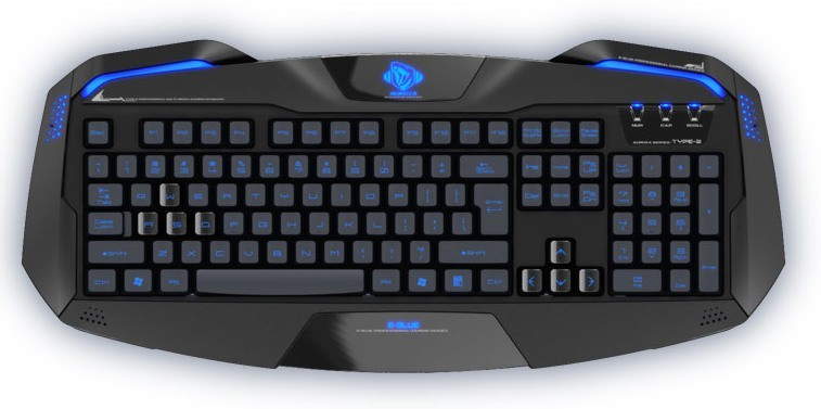Herné klávesnice E-Blue Auroza Keyboard YCEBUG71BC