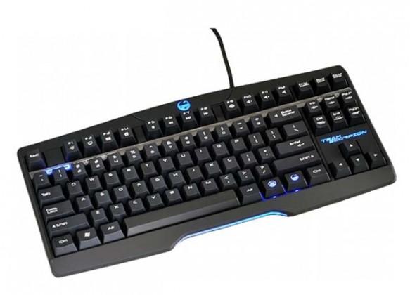 Herné klávesnice Team Scorpion Zero USB, čierna