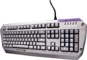 """Herné klávesnice """"Tesoro Colada Evil Cherry MX Blue USB CZ+SK, modrá"""