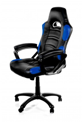 Herné kresla AROZZI herní židle ENZO/ černomodrá