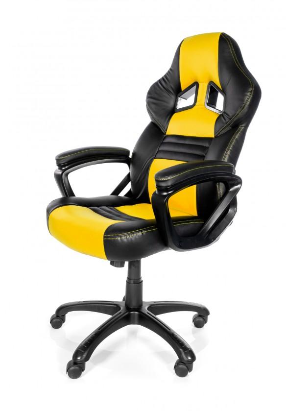 Herné kresla AROZZI herní židle MONZA/ černožlutá