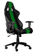 Herné kreslo C-TECH PHOBOS (GCH-01G), čierno-zelené