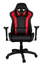 Herné kreslo Cooler Master CALIBER R1, čierno-červené