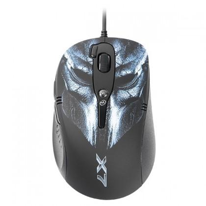 Herné myši A4tech F2, modrá-čierna
