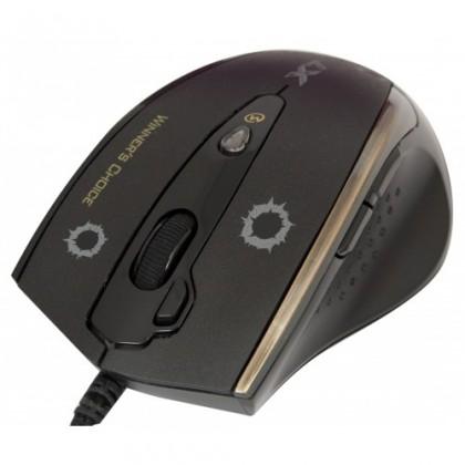 Herné myši A4tech F3, čierna