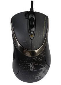 Herné myši A4tech F4, čierna