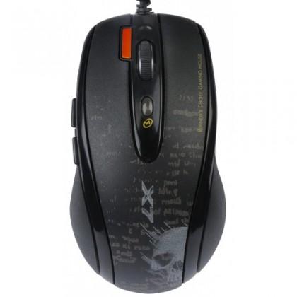 Herné myši A4tech F5, čierna