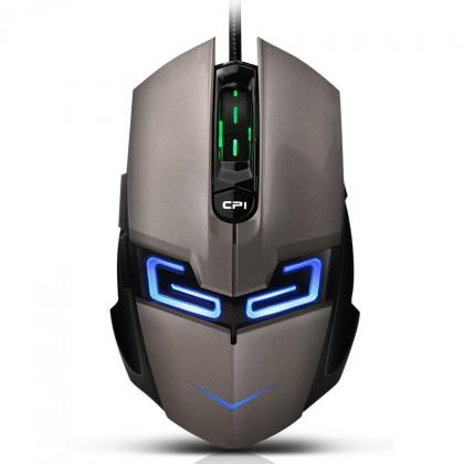 Herné myši CANYON Myš herné CND-SGM7 strieborno čierna