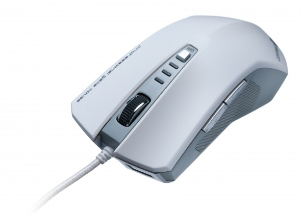 Herné myši Connect IT CI-188 Tomcat, biela