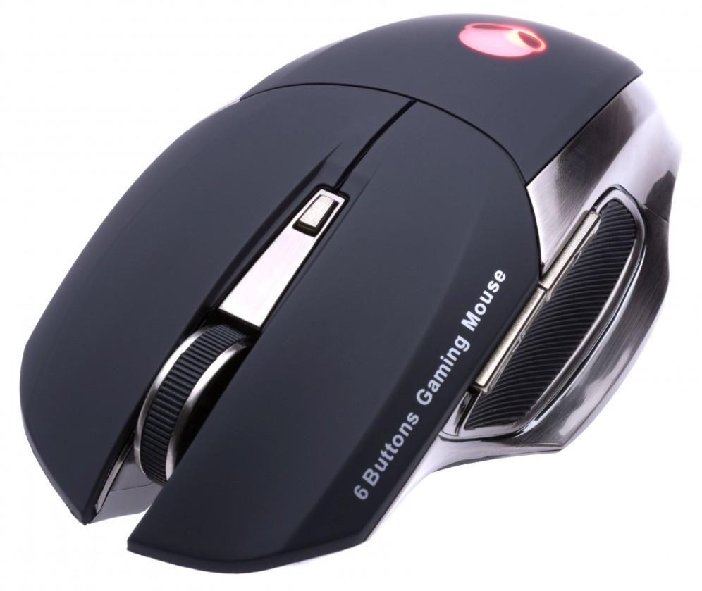 Herné myši Connect IT CI-455 ALIEN herná laserová myš, čierna POUŽITÝ TOVAR