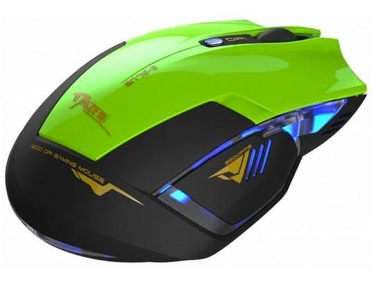 Herné myši E-Blue Mazer R, zelená
